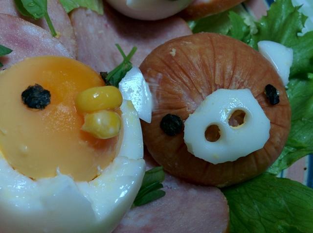 動物サラダ