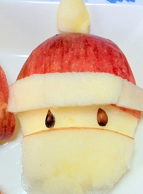 りんご飾り切り