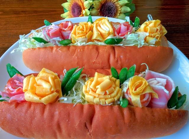 かわいいサンドイッチ