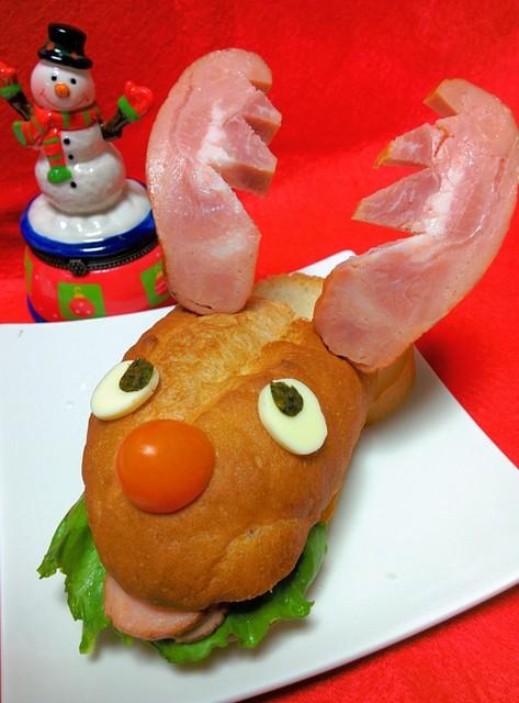 トナカイのサンドイッチ