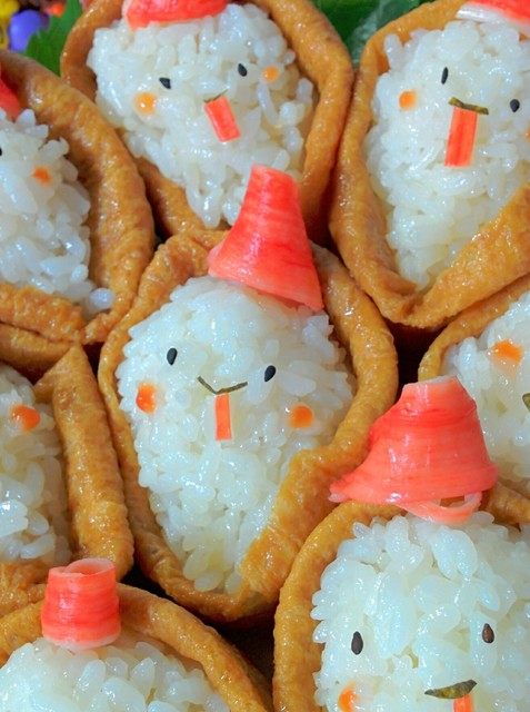 デコ稲荷寿司