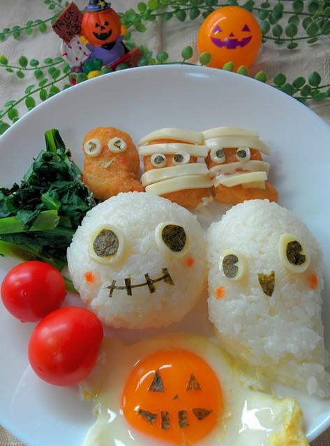 ハロウィンご飯