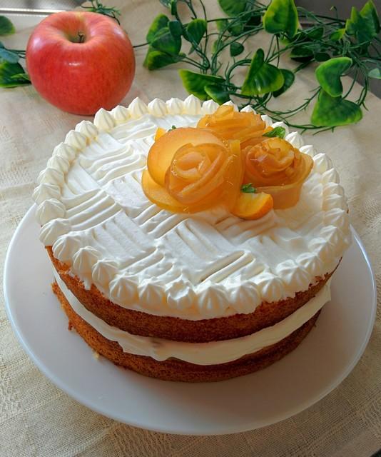 Iりんごケーキ