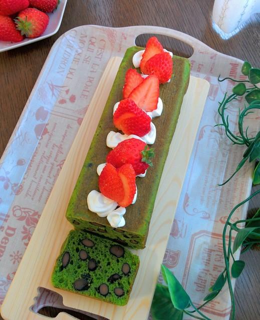ほうれん草のパウンドケーキ