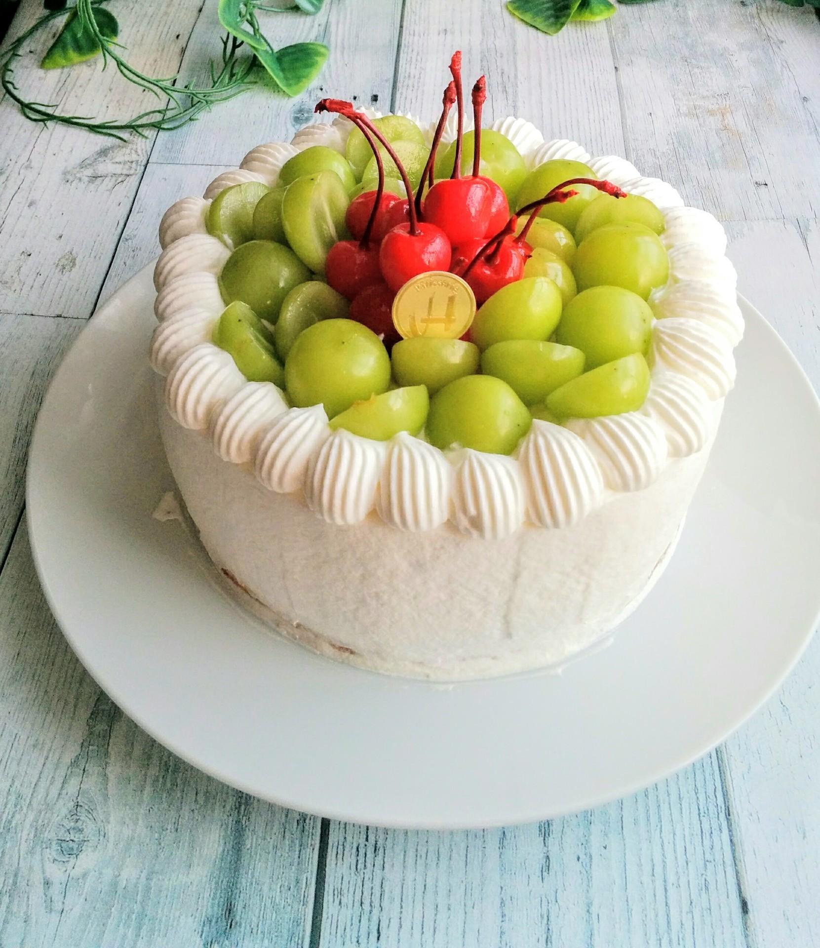 シャイン マスカット ケーキ レシピ